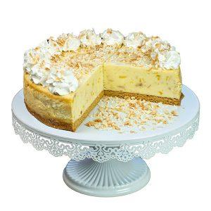 Pineapple Coconut Cream Cheesecake